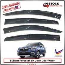 Subaru Forester SK (5th Gen) 2019 AG Door Visor Air Press Wind Deflector (Big 12cm Width)