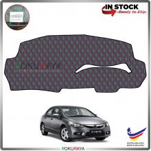 Honda Civic FD (8th Gen) 2006 RR Malaysia Custom Fit Dashboard Cover (RED LINE)