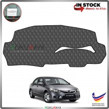 Honda Civic FD (8th Gen) 2006 RR Malaysia Custom Fit Dashboard Cover (BLACK LINE)