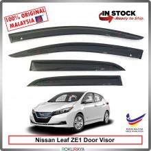Nissan Leaf ZE1 2019 AG Door Visor Air Press Wind Deflector (Medium 8cm Width)