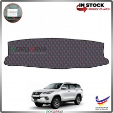Toyota Fortuner (2nd Gen) 2015 RR Malaysia Custom Fit Dashboard Cover (RED LINE)