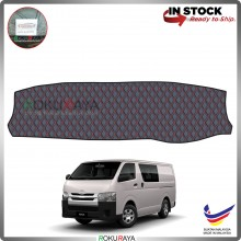 Toyota Hiace H200 (5th Gen) 2004 RR Malaysia Custom Fit Dashboard Cover (RED LINE)