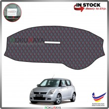 Suzuki Swift (2nd Gen) 2005-2011 RR Malaysia Custom Fit Dashboard Cover (RED LINE)