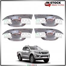 Nissan Navara NP300 Door Handle Cover Garnish Trim ABS Plastic (CHROME BOWL)