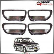 Toyota Unser Door Handle Cover Garnish Trim ABS Plastic (CHROME BOWL)