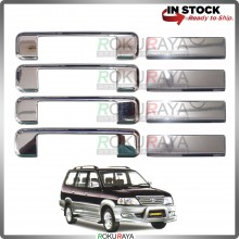 Toyota Unser Door Handle Cover Garnish Trim Stainless Steel (CHROME OUTER)