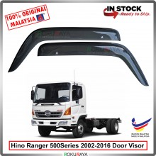 Hino Ranger 500Series 2002-2016 AG Door Visor Air Press Wind Deflector (Big 12cm Width)