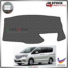 Nissan Serena Hybrid C26 (4th Gen) 2013-2017 RR Malaysia Custom Fit Dashboard Cover (BLACK LINE)