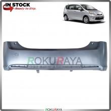 Perodua Alza 2009-2013 OEM Polypropylene PP Plastic Replacement Body Spare Part Black (REAR BUMPER)