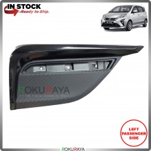 Perodua Alza 2018 Rear Back Bumper Lower Outer Cover Garnish Plastic Body OEM Replacement Spare Part (LEFT)