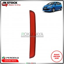 Perodua Alza 2014-2017  Rear Back Bumper Red Reflector OEM Replacement Spare Part (RIGHT)