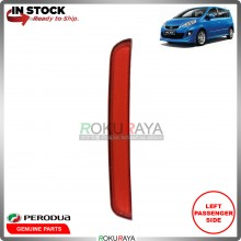 Perodua Alza 2014-2017  Rear Back Bumper Red Reflector OEM Replacement Spare Part (LEFT)