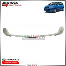 Perodua Alza 2014 Front Bumper Top Grill Grille Sarong Chrome Garnish Moulding
