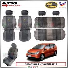 Nissan Grand Livina 2006-2012 Cool Leather Coolmax Custom Fitting Cushion Cover Car Seat