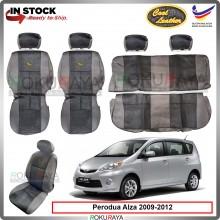 Perodua Alza 2009-2012 Cool Leather Coolmax Custom Fitting Cushion Cover Car Seat