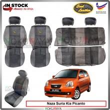 Naza Suria Kia Picanto Cool Leather Coolmax Custom Fitting Cushion Cover Car Seat