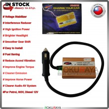 Made in Taiwan - CHARGE Fuel Saver Car Voltage Stabilizer Interference Reducer High Ignition System