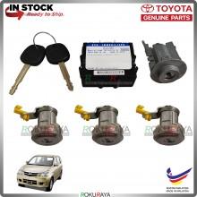 Toyota Avanza Immobilizer ECU Transponder Key Full Set Replacement Spare Part