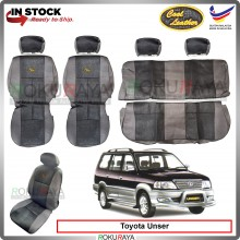 Toyota Unser 1997-2005 Cool Leather Coolmax Custom Fitting Cushion Cover Car Seat