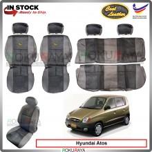 Hyundai Inokom Atos Cool Leather Coolmax Custom Fitting Cushion Cover Car Seat