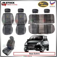 Naza Sutera Forza Cool Leather Coolmax Custom Fitting Cushion Cover Car Seat