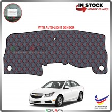 Chevrolet Cruze J300 (1st Gen) RR Malaysia Custom Fit Dashboard Cover (RED LINE)