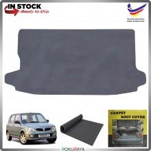 Perodua Kelisa Malaysia Custom Fit Carpet Rear Trunk Boot Cargo Cover