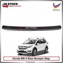 Honda BRV BR-V [CHROME STAINLESS STEEL] Custom Fit  ABS Car Rear Bumper Step Scratch Guard Garnish Protector