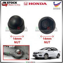 [14MM] 1PCS Honda Jazz City CRV CRZ Insight Wiper Arm Nut Cover ABS Plastic Replacement Spare Part