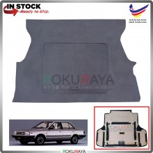 Nissan Sunny 130y Custom Fit 15mm Rear Bonnet Spare Tyre Tire Tayar Cover Back Hard Board Papan (Carpet Wrapped)