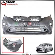 Perodua Alza 2018 OEM Polypropylene PP Plastic Replacement Body Spare Part Black (FRONT BUMPER)