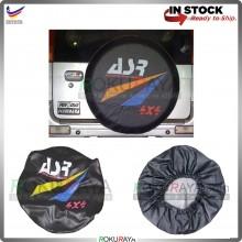 Perodua Kembara ASR 4x4 PVC Rear Wheel Spare Tyre Cover Black