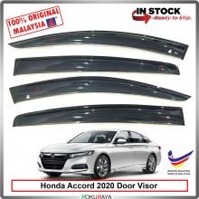 Honda Accord (10th Gen) 2020 AG Door Visor Air Press Wind Deflector (Big 12cm Width)