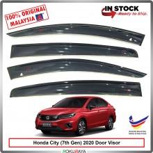 Honda City (7th Gen) 2020 AG Door Visor Air Press Wind Deflector (Big 12cm Width)