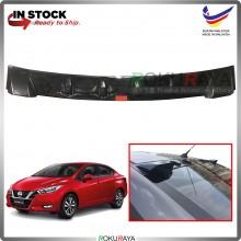 Nissan Almera N18 (4th Gen) Vortex Generator Shark Fin Aerodynamic Rear Windscreen Glass Visor Diffuser Diffusor