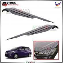 Perodua Myvi VVTi (3rd Gen) Custom Fit ABS Plastic Car Head Lamp  Eye Lid Brow Cover