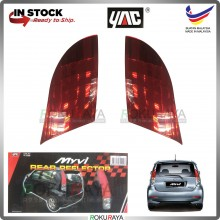 Perodua Myvi Old Add On Tail Lamp Safety Reflective Red Reflector