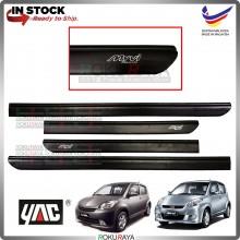 Perodua Myvi (1st Gen) 2005-2010 Rubber Black Side Door Moulding Garnish Body Lining Panel