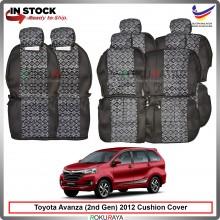 Toyota Avanza (2nd Gen) 2012-2018 Local GO Fabric Sponge Custom Fitting Cushion Cover Car Seat