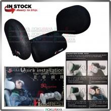 ESPER MALAYSIA Headrest Sleep Pillow Side Soft Travel Adjustable Bracket Seat Auto Headrest Children Adults Car