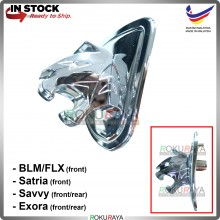 Proton BLM FLX Satria Savvy Exora Tiger Harimau Chrome 3D 4D Automobile Car FRONT Emblem Logo Badge (with LED)