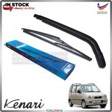 Perodua Kenari Rear Tail Wiper Blade Arm Set Car Accessories Parts