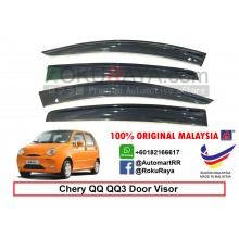 Chery QQ QQ3 AG Door Visor Air Press Wind Deflector (Big 12cm Width)