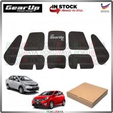 Perodua Bezza Axia GEAR UP Hood Insulator Front Bonnet Vibramat Deadening Sound Proof Heat Insulation Mat Car