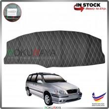 [BLACK LINE] Naza Ria Kia Carnival Old RR Dashboard Cover Leather PU PVC Black Car Accessories Parts