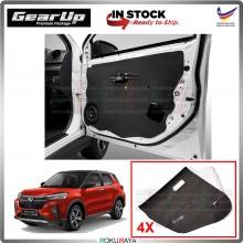 Perodua Ativa SUV Gear Up Door Comfort Vibramat Deadening Sound Proof Heat Insulation Mat Car Accessories