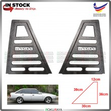 Mazda 626 GC HATCHBACK Vintage Rear Triangle Side Window Mirror Cover Car Accessories Parts