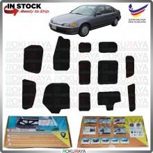 Honda Civic EG SR4 SR3 Carfit Vibramat Boot Trunk Bonnet Deadening Sound Proof Heat Insulation Mat Car Aceessories
