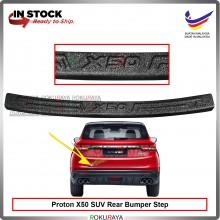 Proton X50 SUV Original ABS Car Rear Bumper Step Scratch Guard Shield Garnish Protector Padding Car Accessories Parts