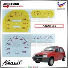 Perodua Kancil Lampu Petak Old 660 Manual Automatic Meter Panel Garnish Decoration Cover Car Accessories Parts